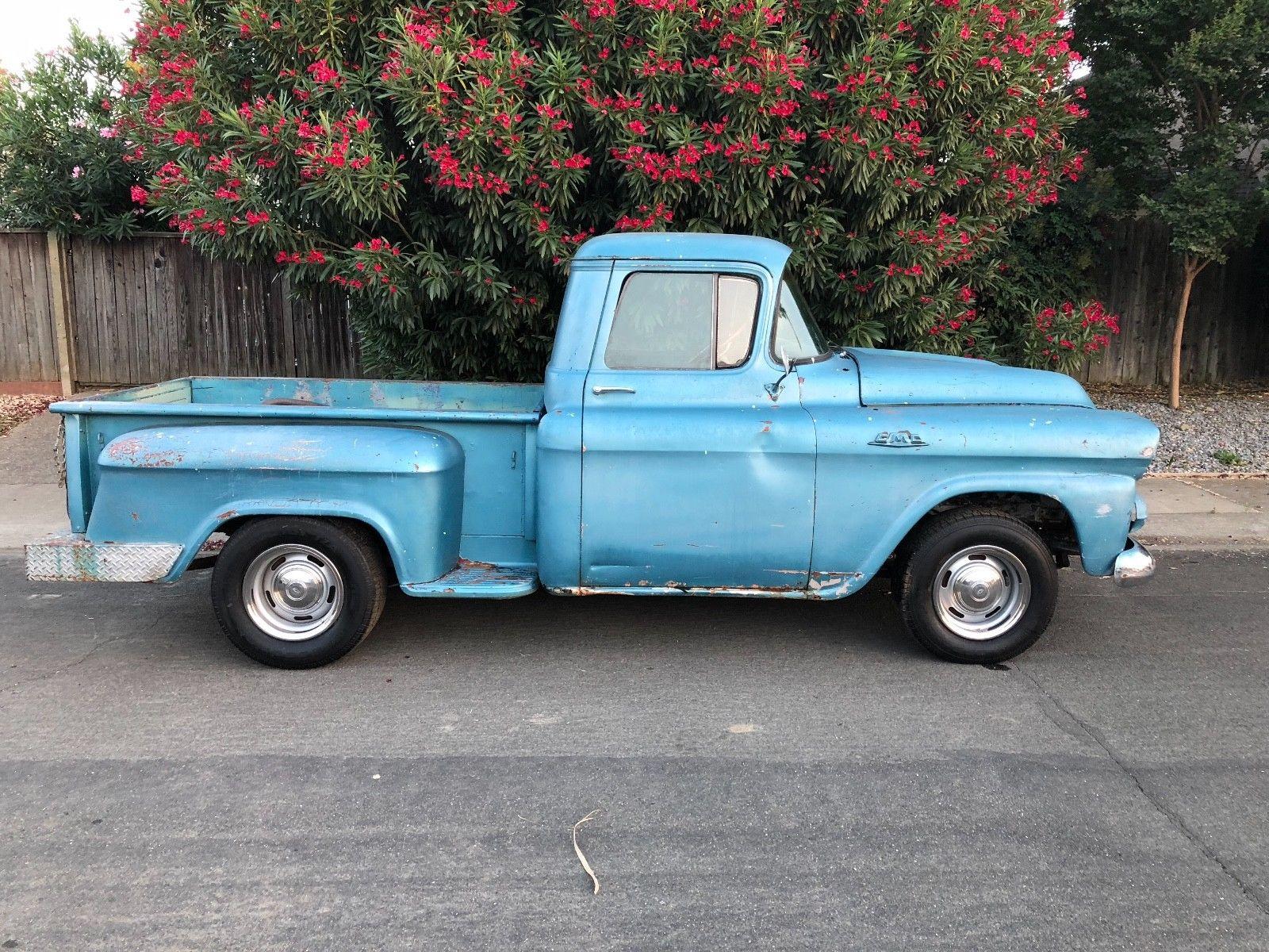 1959 Chevrolet Other Pickups DeLuxe 1959 GMC Short Bed ...
