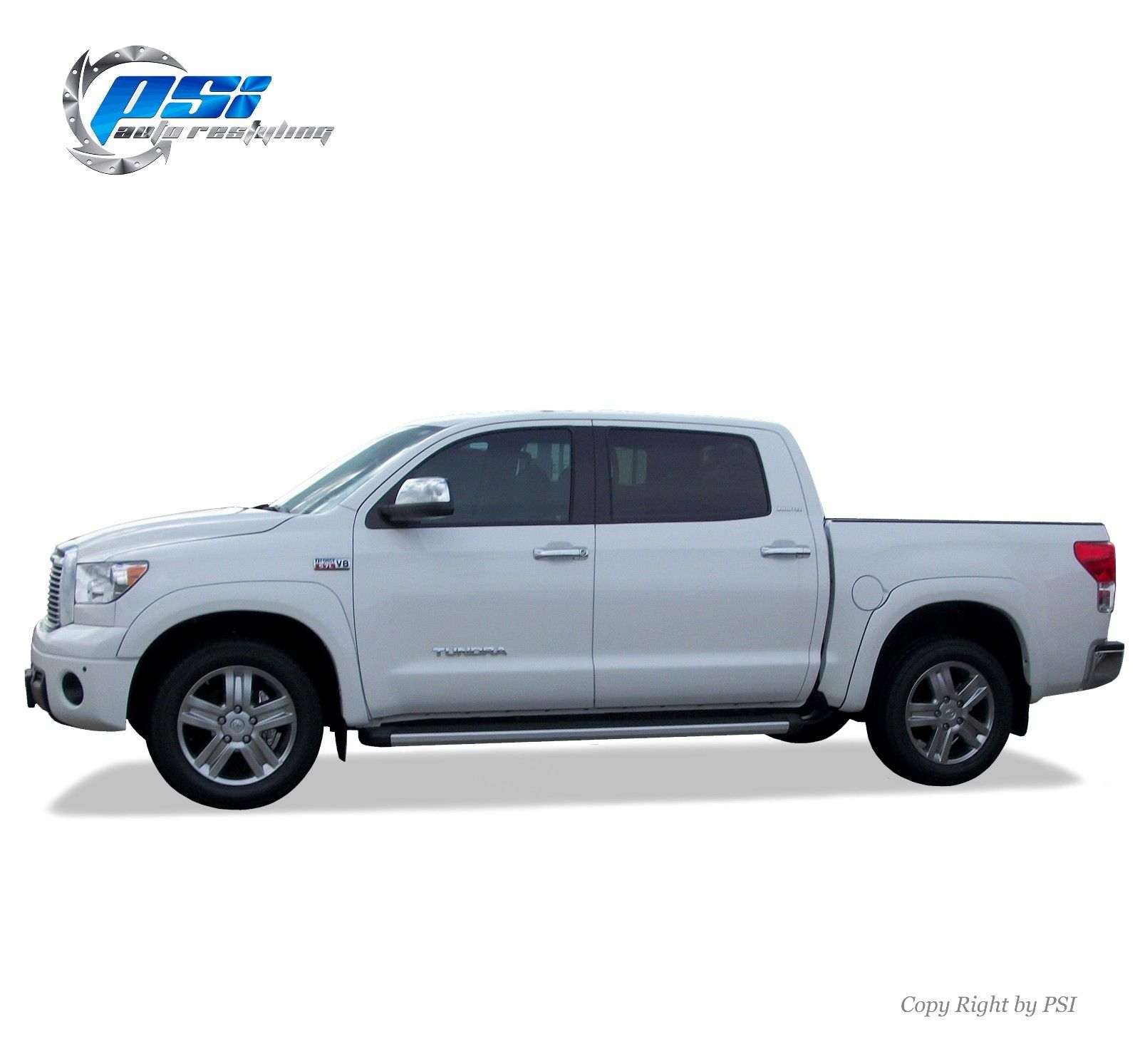 Black Paintable Oe Style Fender Flares Toyota Tundra 07 13 Fits W Factory Flaps 2018 2019 Mycarboard Com