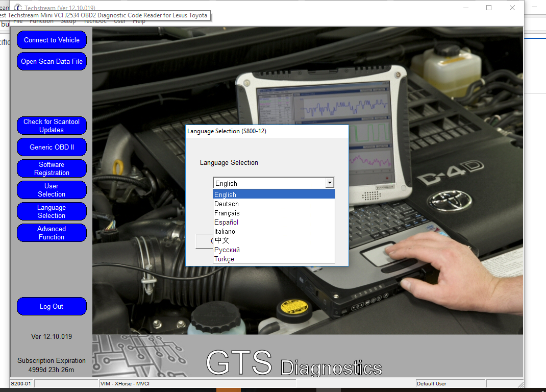 Awesome 12/2017 Techstream Diagnostic Toyota TIS Software V12 30 017 for  Mini VCI J2534 2018-2019