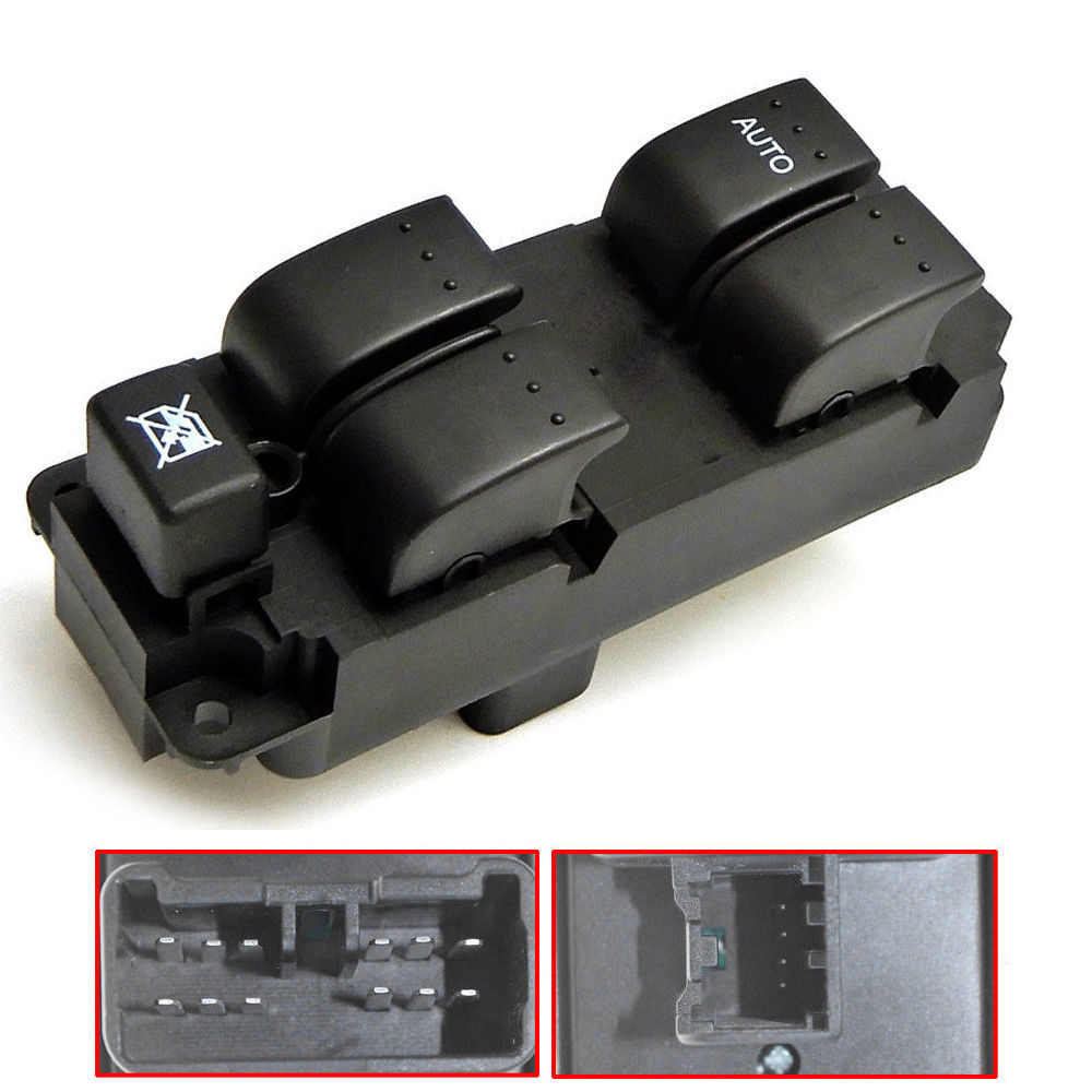 USA Driver Side Master Power Window Switch BN8F-66-350 For 2004-2009 Mazda 3