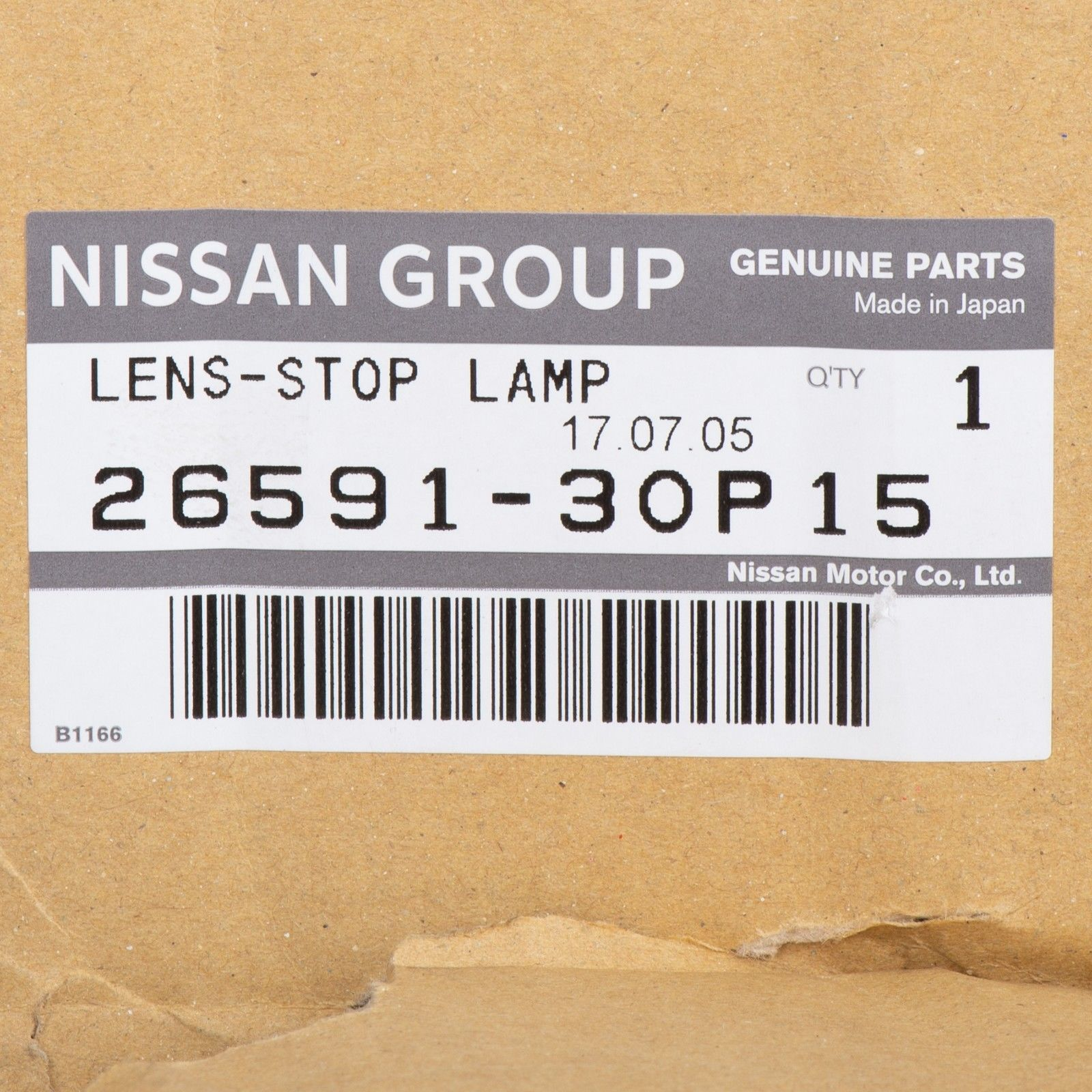 Awesome NEW OEM Nissan 300ZX 1990-1996 3rd Brake Light Lens Stop Lamp  2659130P15 GENUINE 2018