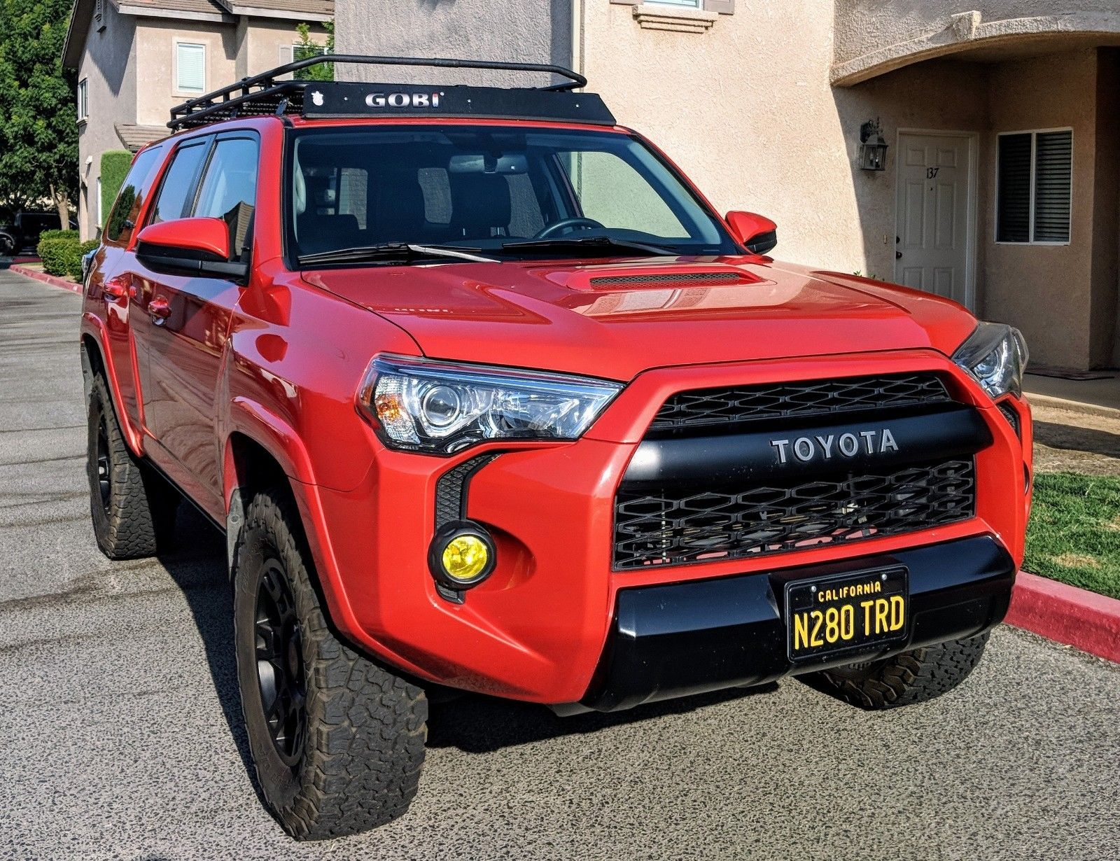 Used 2015 Toyota 4runner Trd Pro Trd Pro Toyota 4runner 2015 Inferno Orange 2018 2019 Is In Stock And For Sale Mycarboard Com