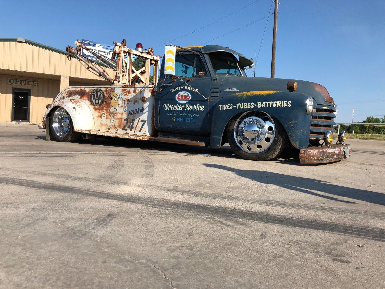 1953 Chevrolet Other Pickups 1953 Chevy Wrecker Tow Truck Rat Rod 2018 2019 Is In Stock And For Sale Mycarboard Com