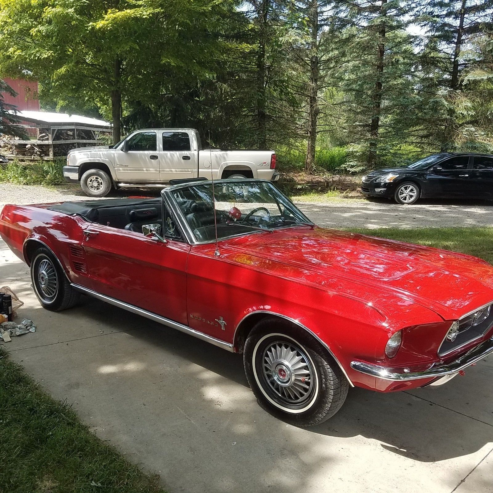 1967 Ford Mustang 1967 MUSTANG CONVERTIBLE With 302 V8