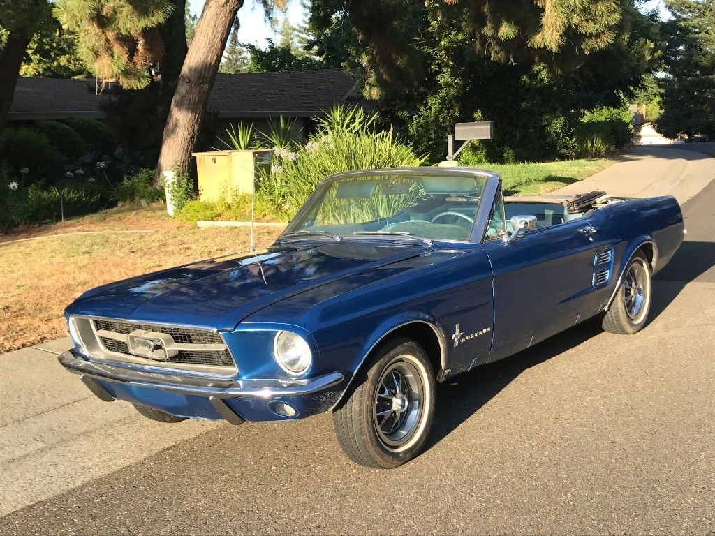 Awesome 1967 ford mustang 1967 mustang convertible 289 v8 4 spd manual 2018 2019
