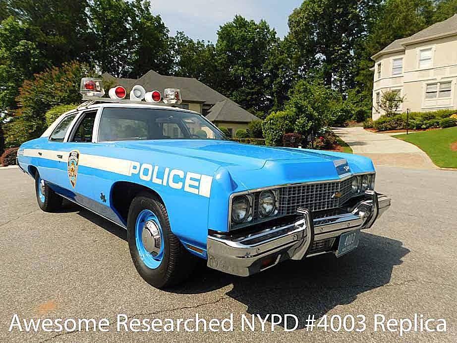 Bel Air Car >> Great 1973 Chevrolet Bel Air 1973 Chevrolet Bel Air Nypd Police Car