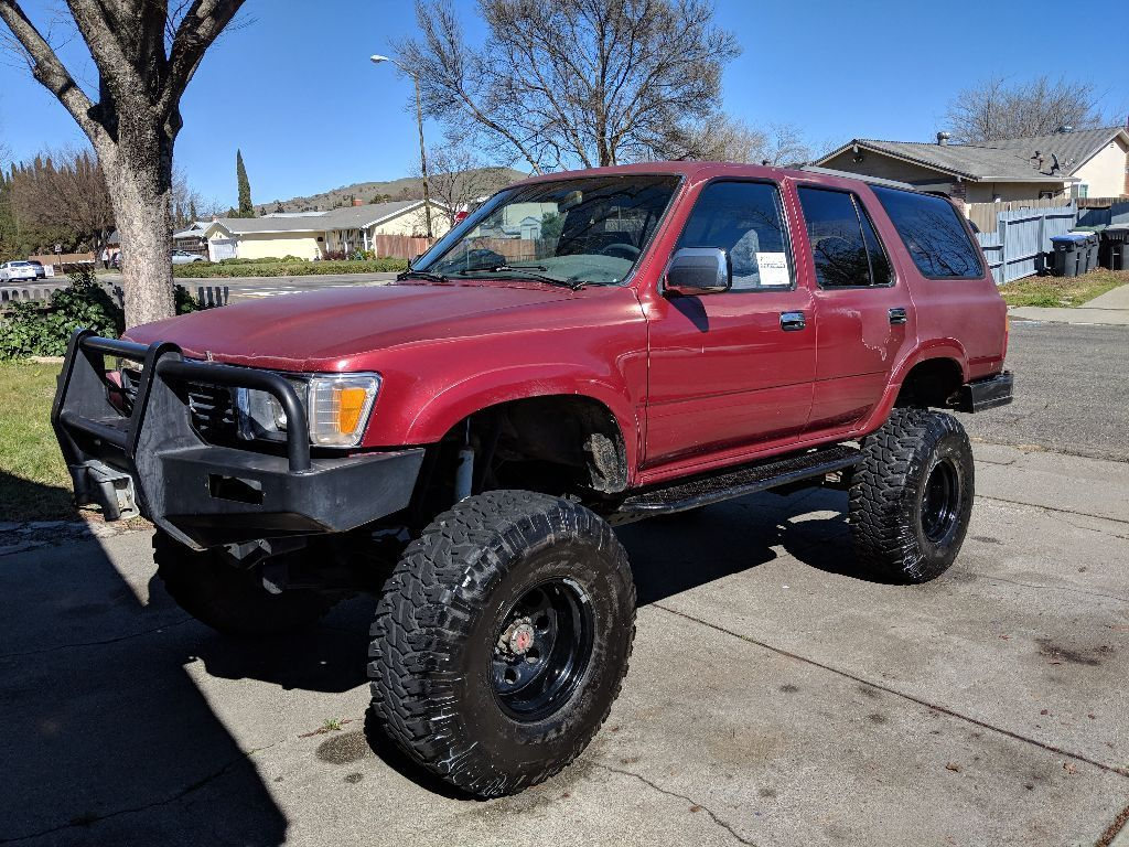 1990 Toyota 4runner Red 1990 Toyota 4runner Rock Crawler 2018 2019 Is In Stock And For Sale Mycarboard Com