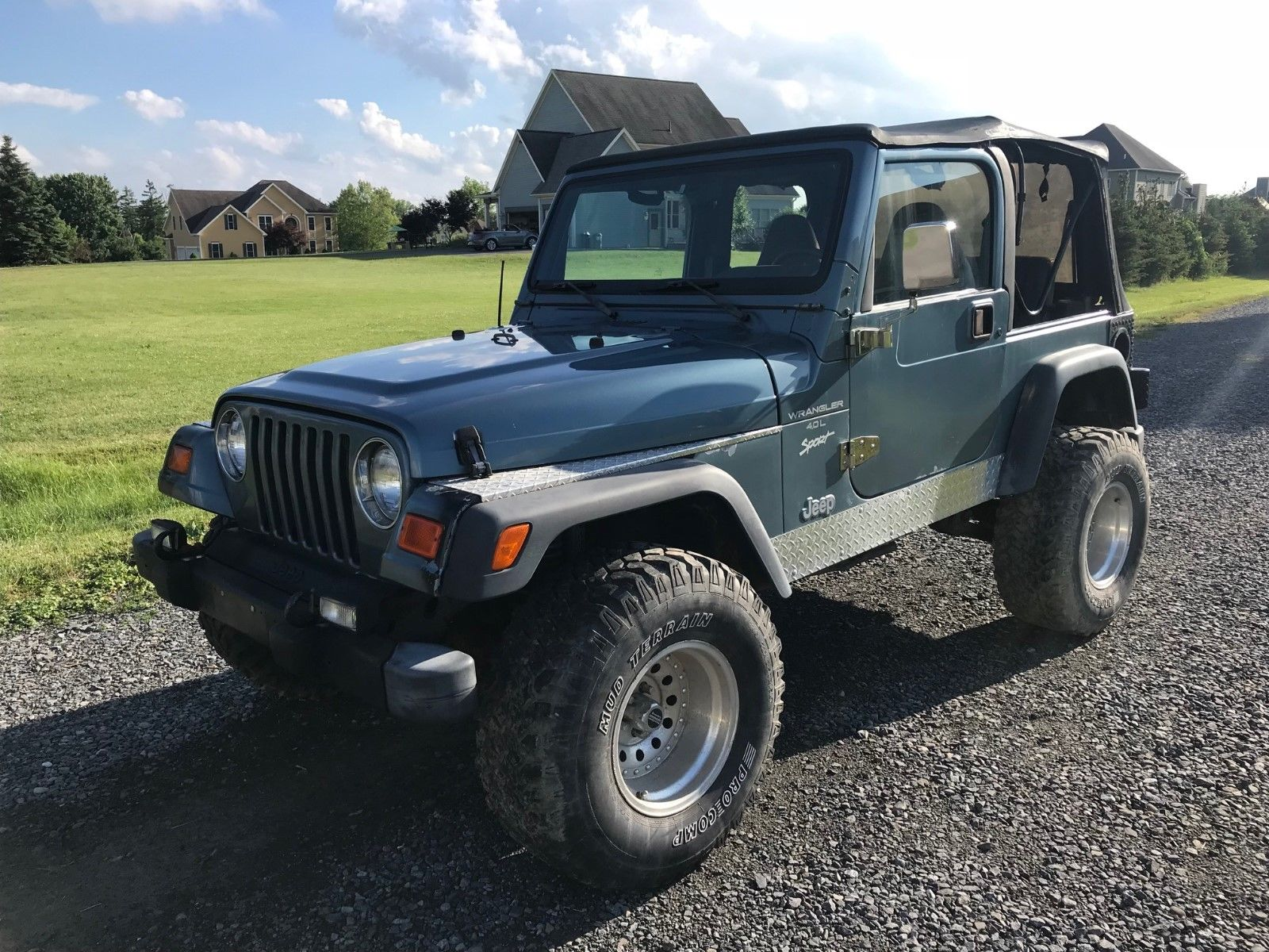 Great 1998 Jeep Wrangler Sport Jeep Wrangler Sport 3 1/2u2033 Rough Country  Lift 4.0L 5Speed Soft Top 2019