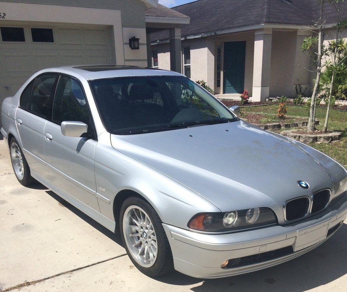 2001 BMW 5-Series 540i 2001 BMW 540i E39 4.4 Liter V8