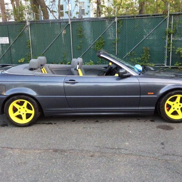 2002 bmw 330ci convertible top reset