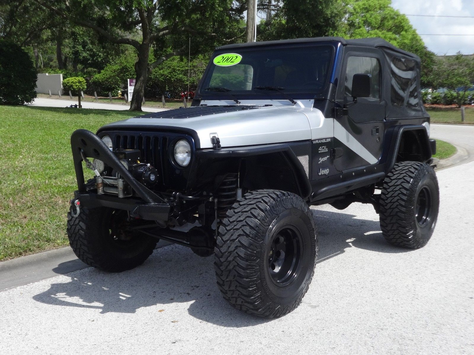 Jeep Wrangler Lift Kits >> Awesome 2002 Jeep Wrangler Sport Port Lift Kit Procomp Whls 35 Coopers Xrc Bumpers A C Auto Fl Jeep Wow 2018 2019