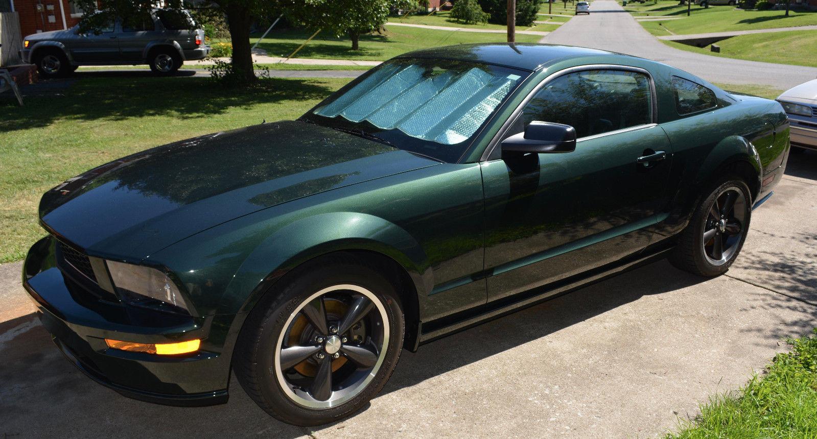 Great 2008 Ford Mustang Gt 2008 Bullitt Edition Ford Mustang Gt 0147 15k Miles Dark Highland Green 2018