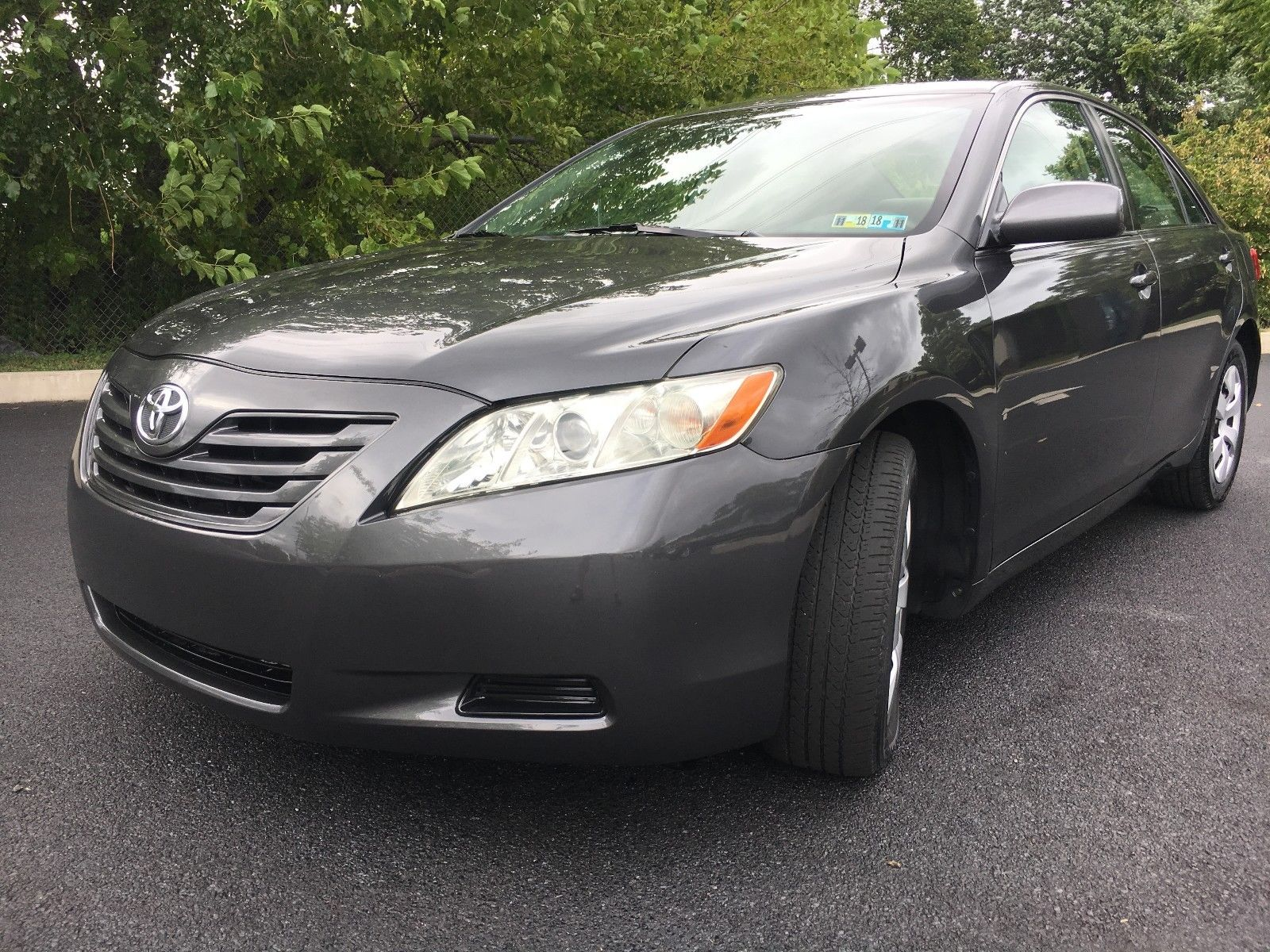 Awesome 2008 Toyota Camry Le Sedan Low Mileage Dirty Car Fax No Reserve Auction 2019