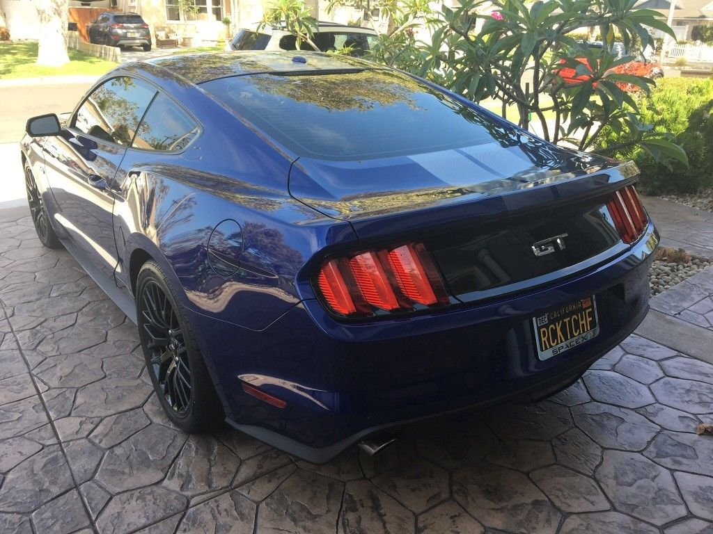 Great 2016 Ford Mustang Gt Premium Deep Impact Blue 2018 2019