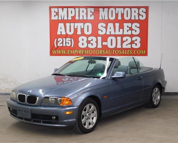 Great 3 Series 325Ci 2001 BMW Convertible Clean 25
