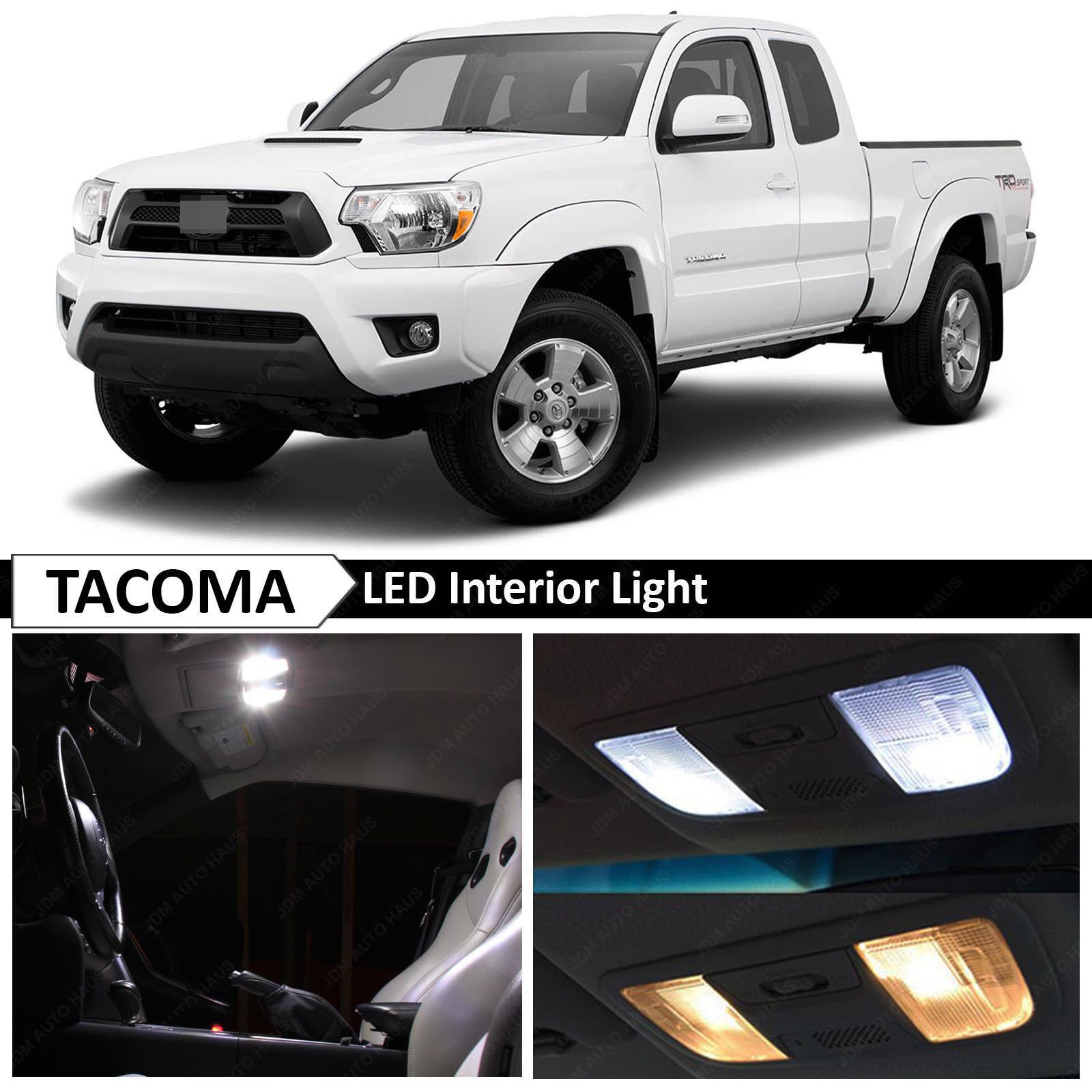 2018 tacoma interior lights