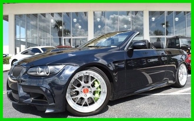 Great Bmw M3 Convertible 1 Of A Kind 1 Owner Carfax 2010 Used 4l V8 32v Manual Rwd Convertible Premium 2019