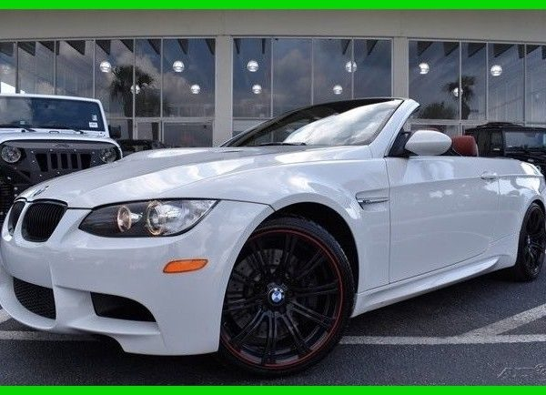 Great Bmw M3 M3 Convertible 1 Owner Clean Carfax 2013 Used 4l V8 32v Manual Rwd Convertible Premium 2019