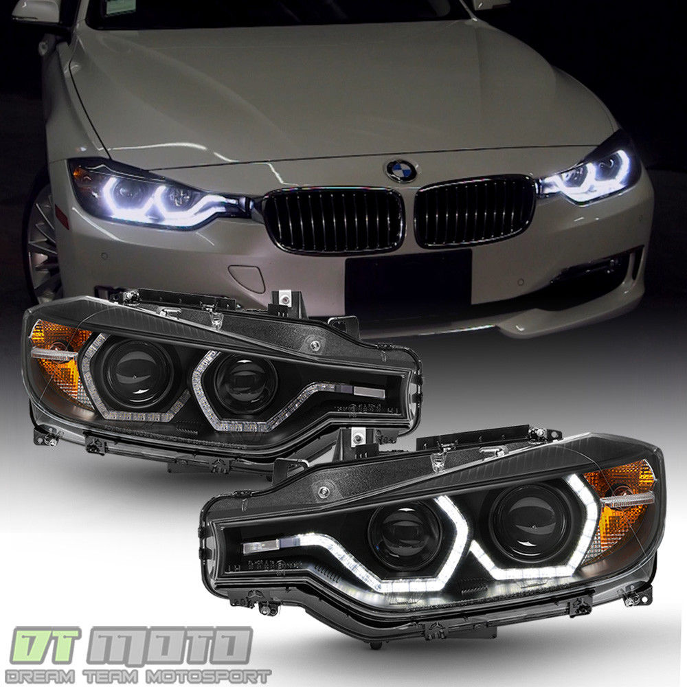 Amazing Black F32 Style 2012 2015 Bmw F30 3 Series Sedan Led Drl Projector Headlights 2019