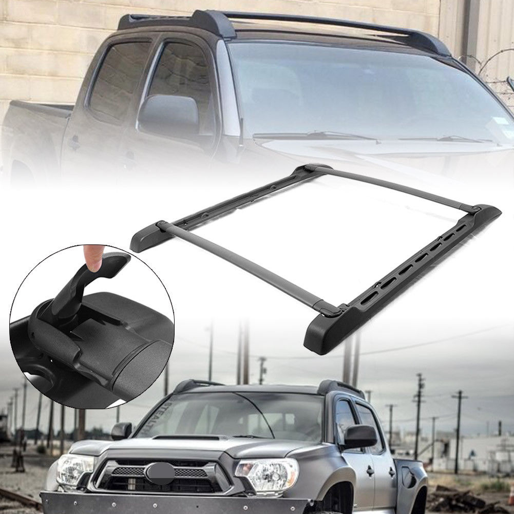 Toyota Tacoma Roof Rack Double Cab >> Amazing For 2005 2017 Toyota Tacoma Double Cab Top Roof Rack Side Rails Cross Bar 2018 2019