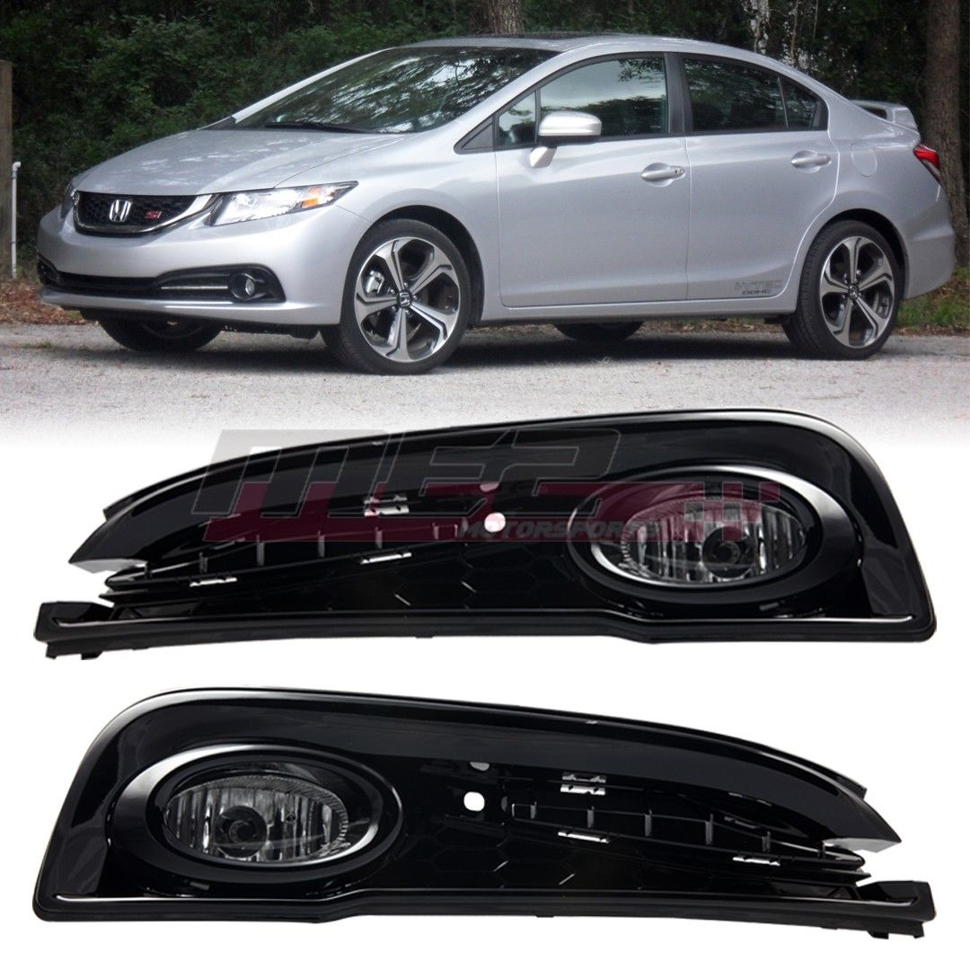 Awesome For 2013 2015 Honda Civic Oe Factory Fit Fog Light Bumper