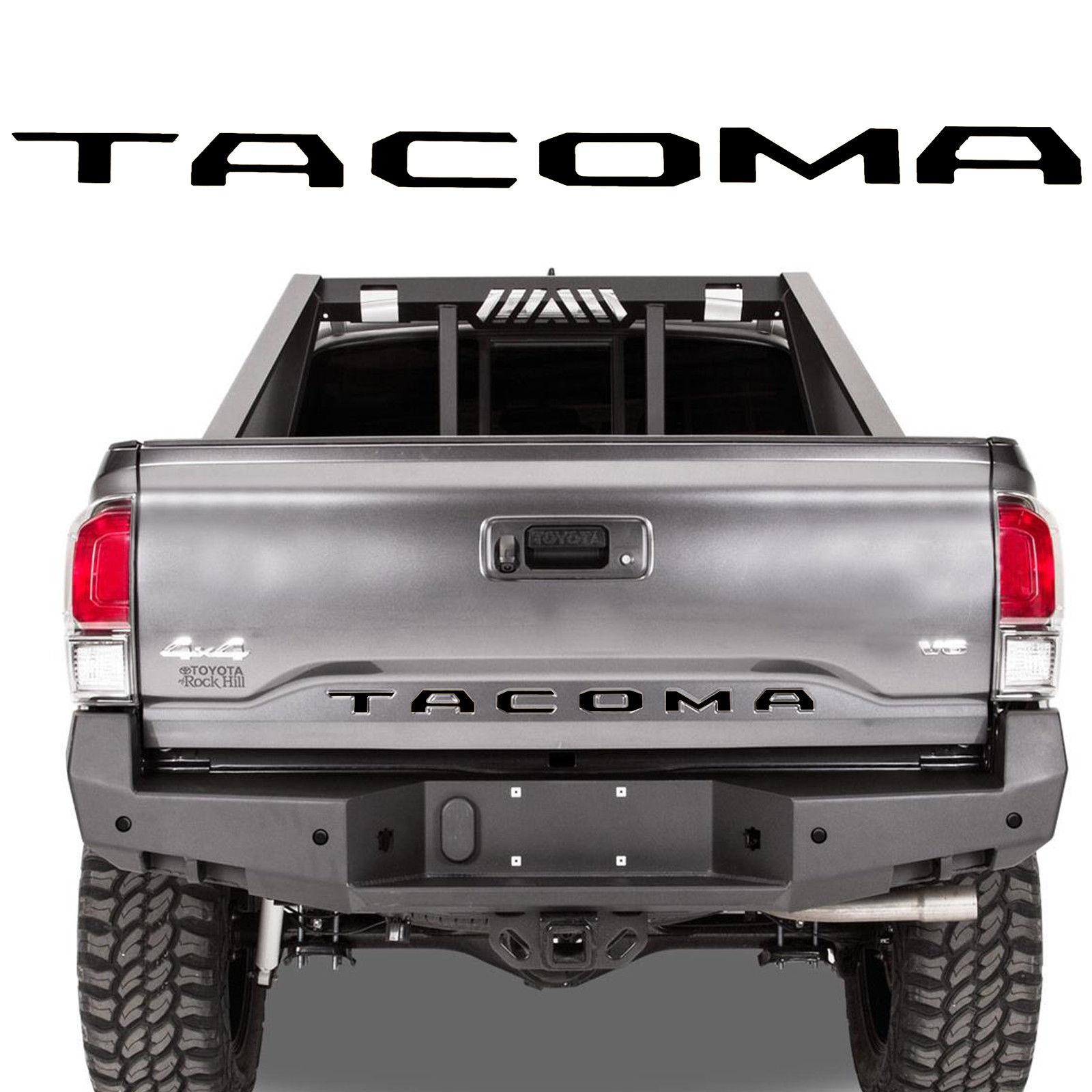Premium Vinyl Decal Tailgate Insert Sticker for2016 2017 2018 2019 Toyota Tacoma