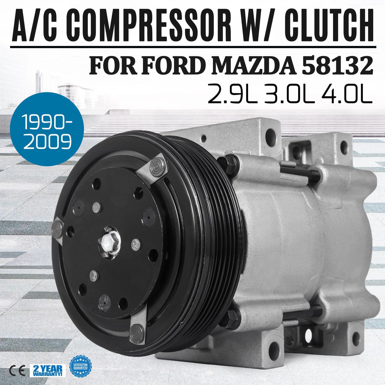 Car & Truck A/C Compressors & Clutches Car & Truck Parts AC Compressor for Ford Explorer/Ranger Mazda B3000/Mercury 1990-2009 CO101320