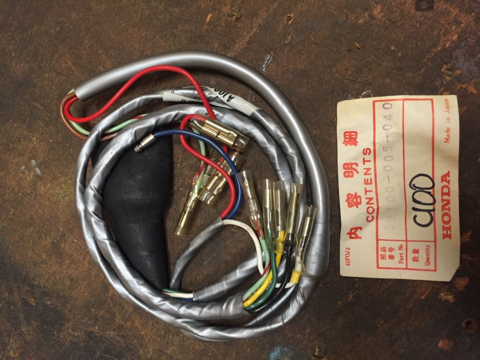 Honda Cl100 Wiring Harness Nos 32100