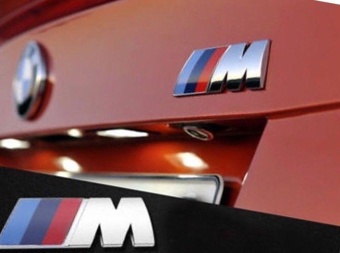 Amazing M Tech Bmw Sport 3d Chrome Vehicle Emblem Badge Logo Decal 2019