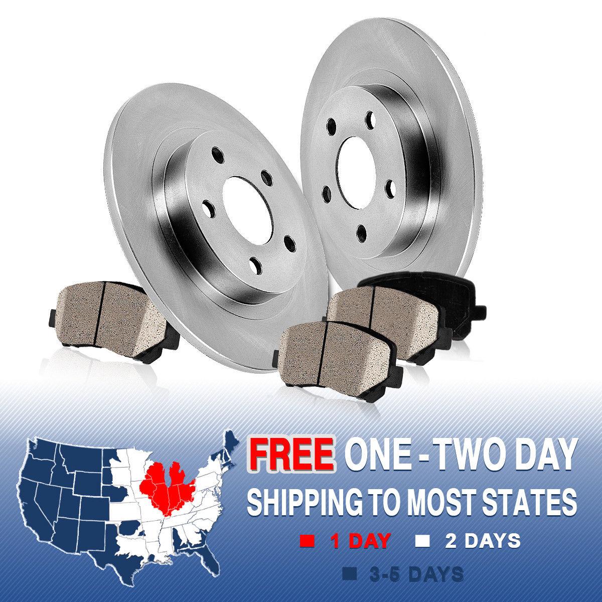Rear Disc Rotors /& Ceramic Brake Pads For Nissan Altima Juke Maxima Sentra