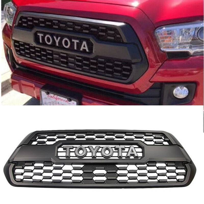 Awesome Us Oem For 2016 2017 2018 Toyota Tacoma Trd Pro Grille Insert Pt228 35170 Grill