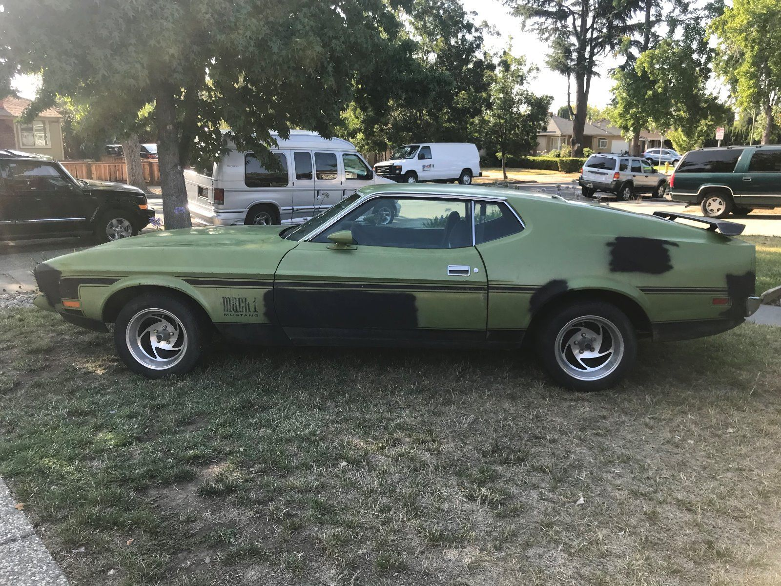 Awesome 1972 ford mustang mach 1 1972 mustang mach 1 barn find q code 2018 2019