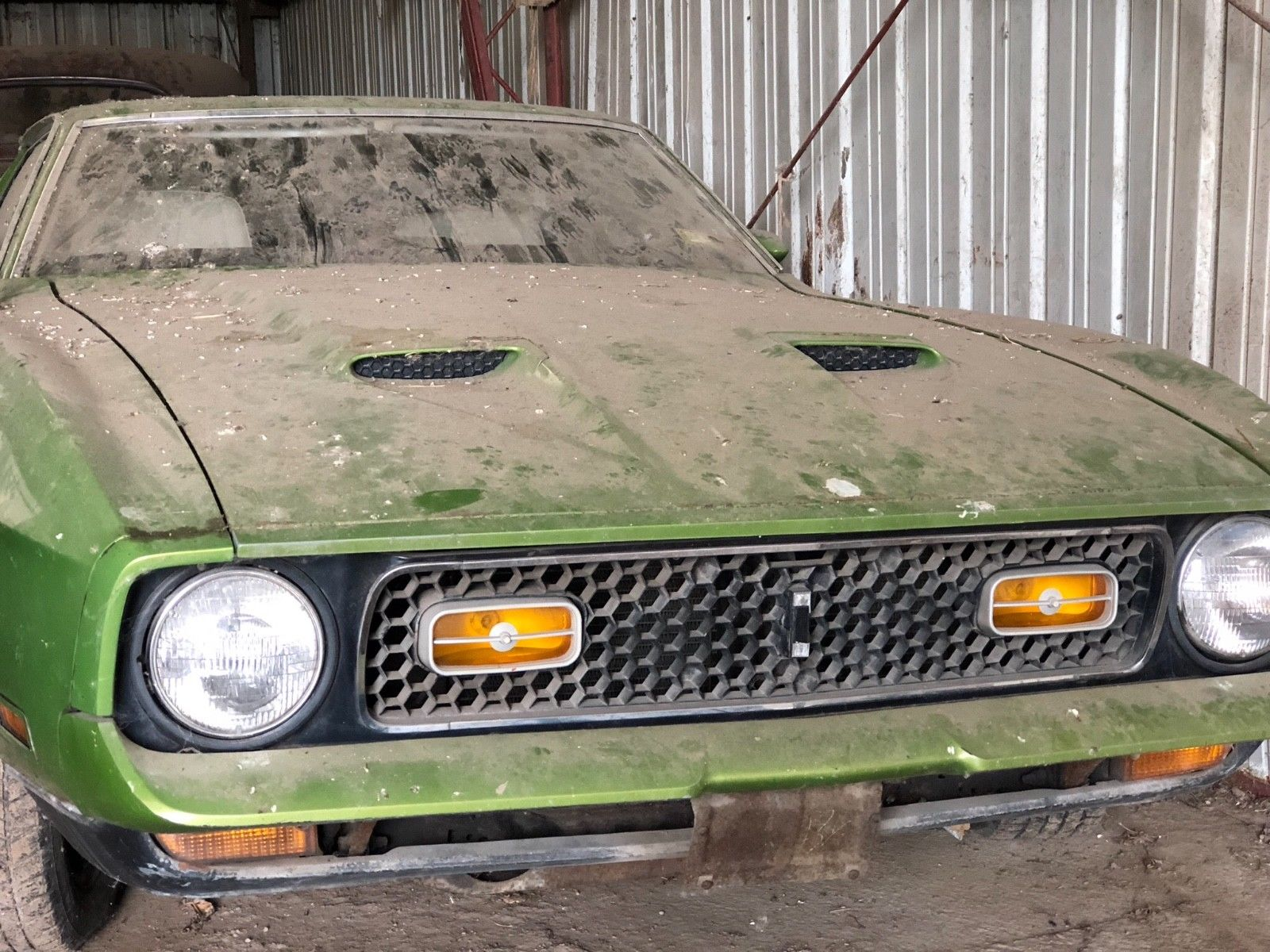 Awesome 1972 ford mustang mach 1 1972 ford mustang mach 1 q code cobra 4spd jet barn find 2018 2019