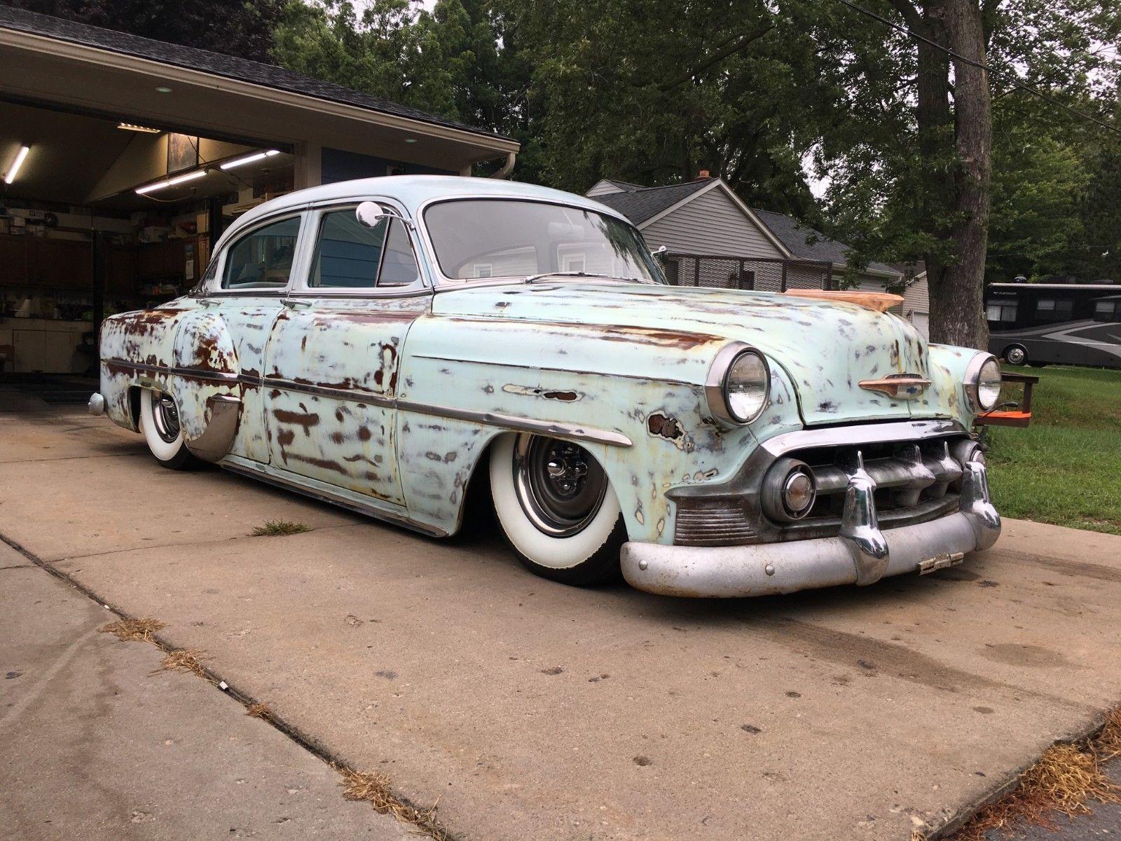 Amazing 1953 Chevrolet Bel Air/150/210 1953 Chevy 4 door ...
