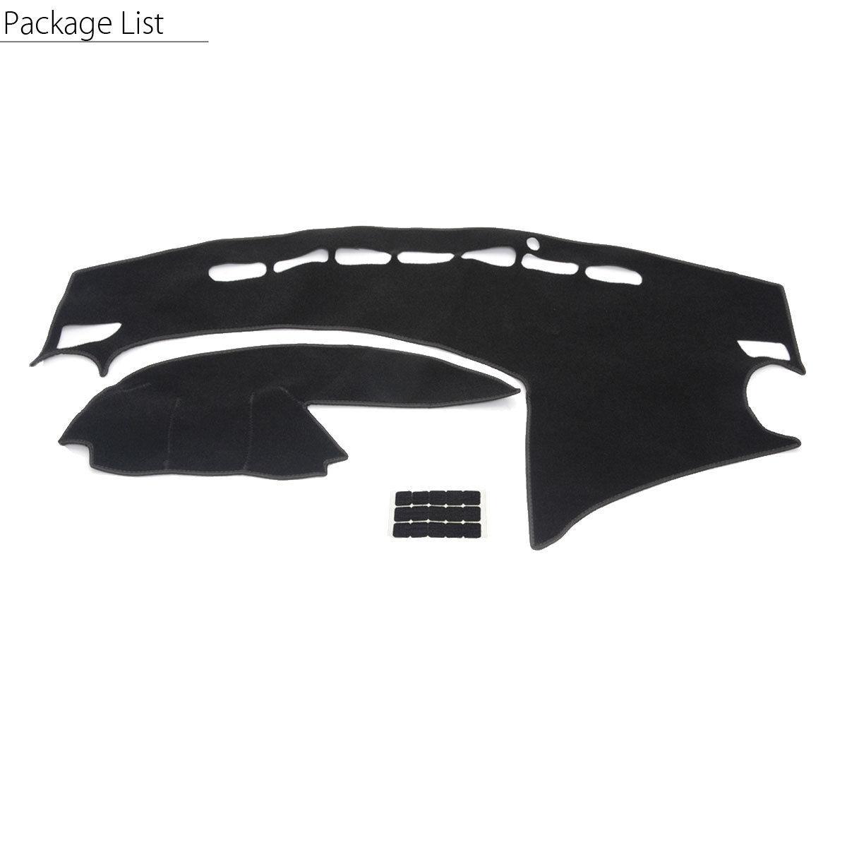 Car Dashboard Cover Dashmat Dash Sun Mat Carpet Board Pad For Mazda 3 2010-2013
