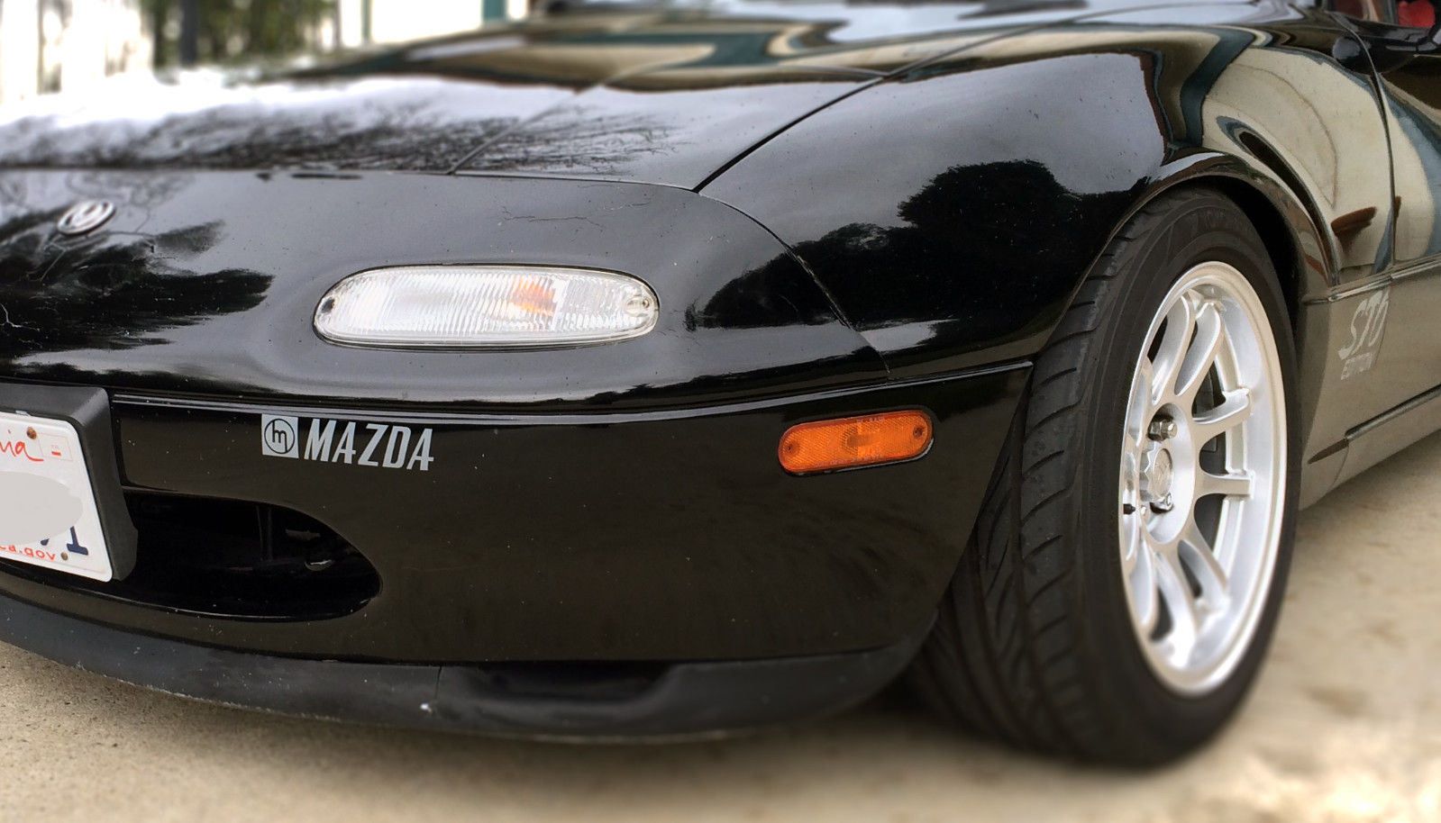 Used BMW I3 >> Mazda Miata Front bumper logo; like OEM decal, vintage ...