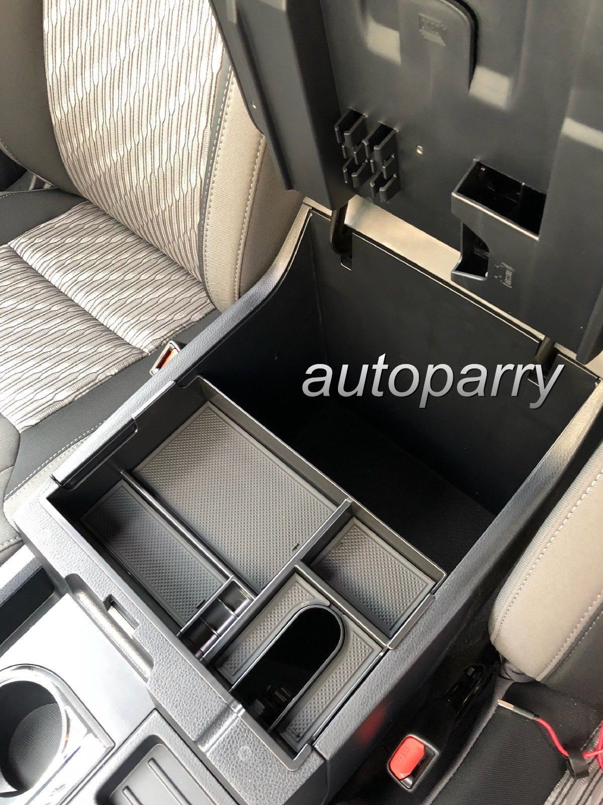 Great For Toyota Tundra 2014 2018 Center Console Organizer Armrest