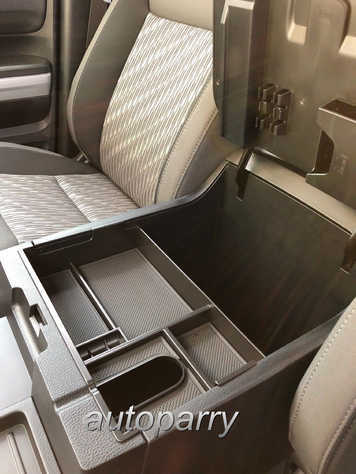 2017 Toyota 4Runner >> Used For Toyota Tundra 2014-2018 Center Console Organizer Armrest Storage Box Tray 2018-2019 ...