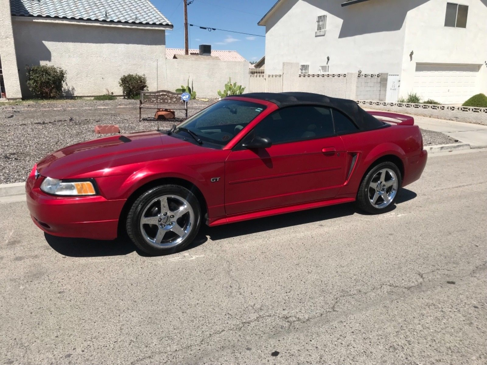 Great 2000 ford mustang gt 2000 ford mustang gt convertible original 96k miles no reserve 5 day auction 2018 2019