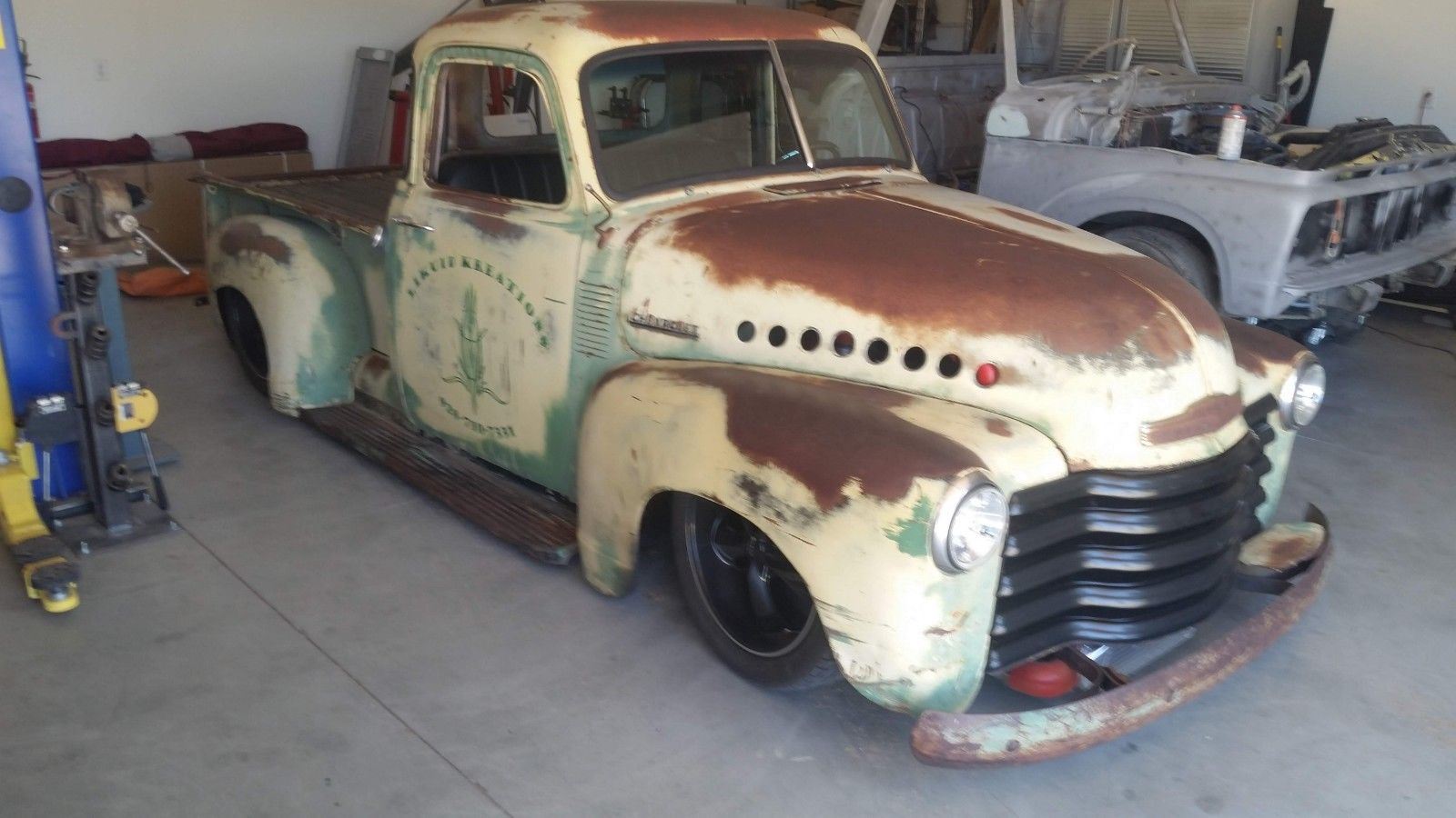 1953 Chevrolet Other Pickups 1953 Chevy 3100 Shop Truck Rat Rod Hot Rod Patina Twin Turbo C10 Air Ride 2018 2019 Is In Stock And For Sale Mycarboard Com