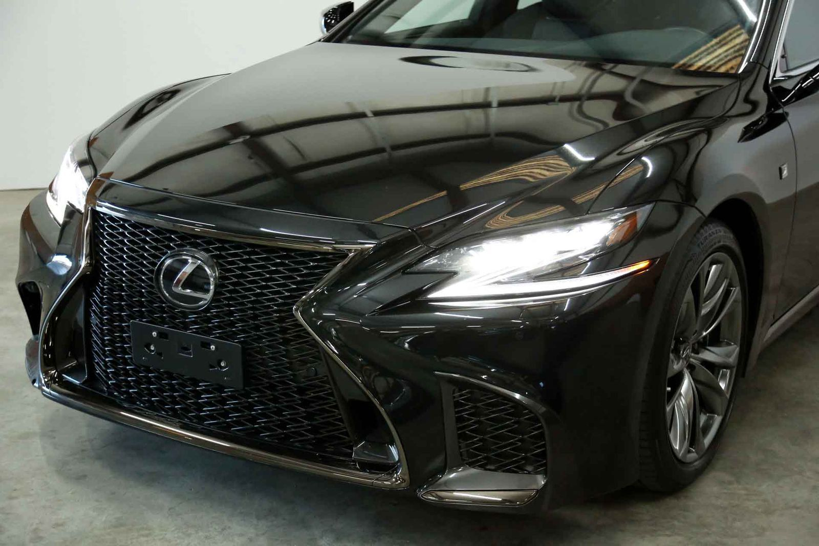 lexus ls 500 f sport 550 f sport 2018 lexus ls550 f sport nav rear cam vented sts pano roof