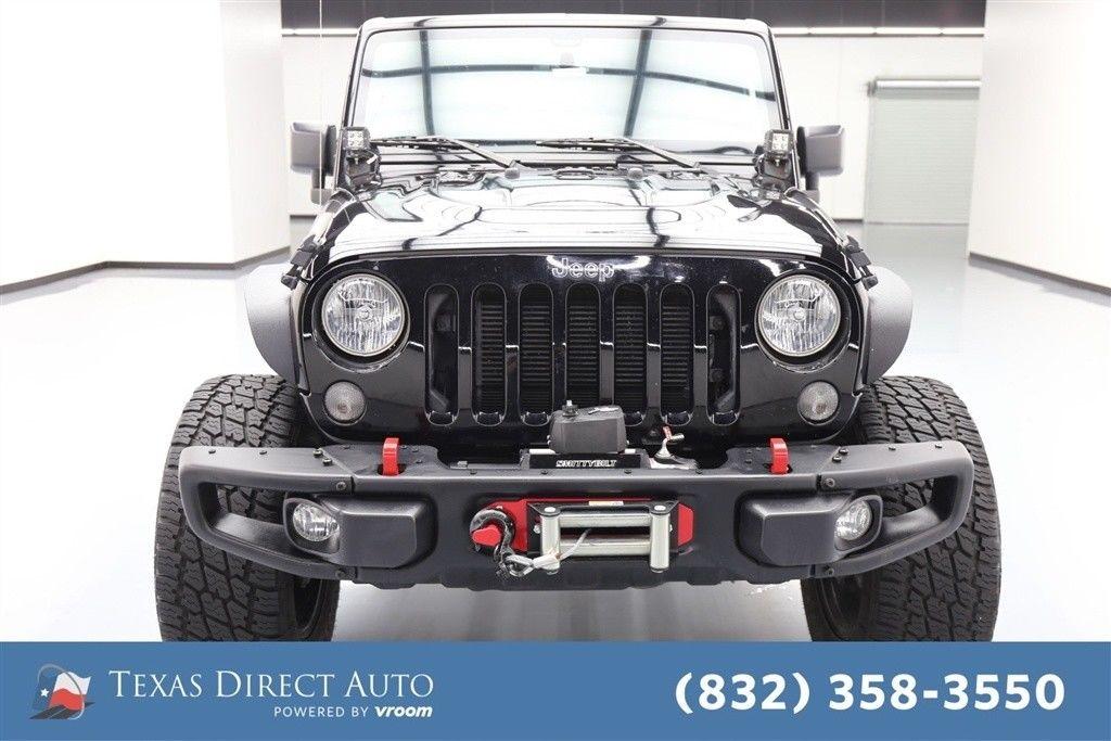 Great Jeep Wrangler Rubicon Hard Rock Texas Direct Auto ...