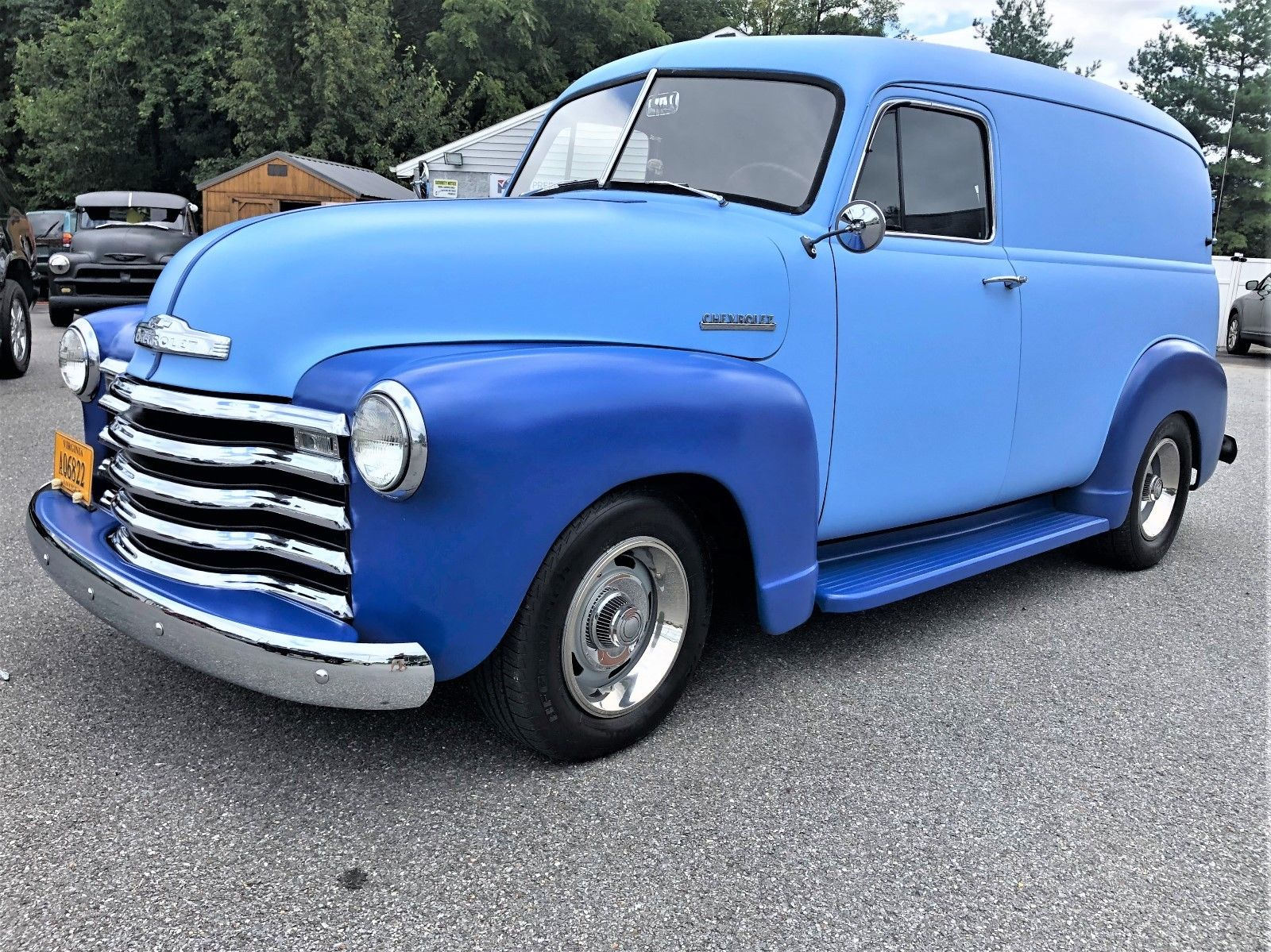 Honda Fit Battery >> Awesome 1952 Chevrolet C10 Panel 1952 Chevy Panel Truck