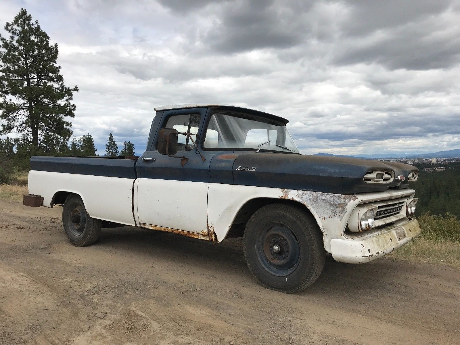 Great 1961 Chevrolet Other Pickups Apache Chevy 20 Pick Up Products