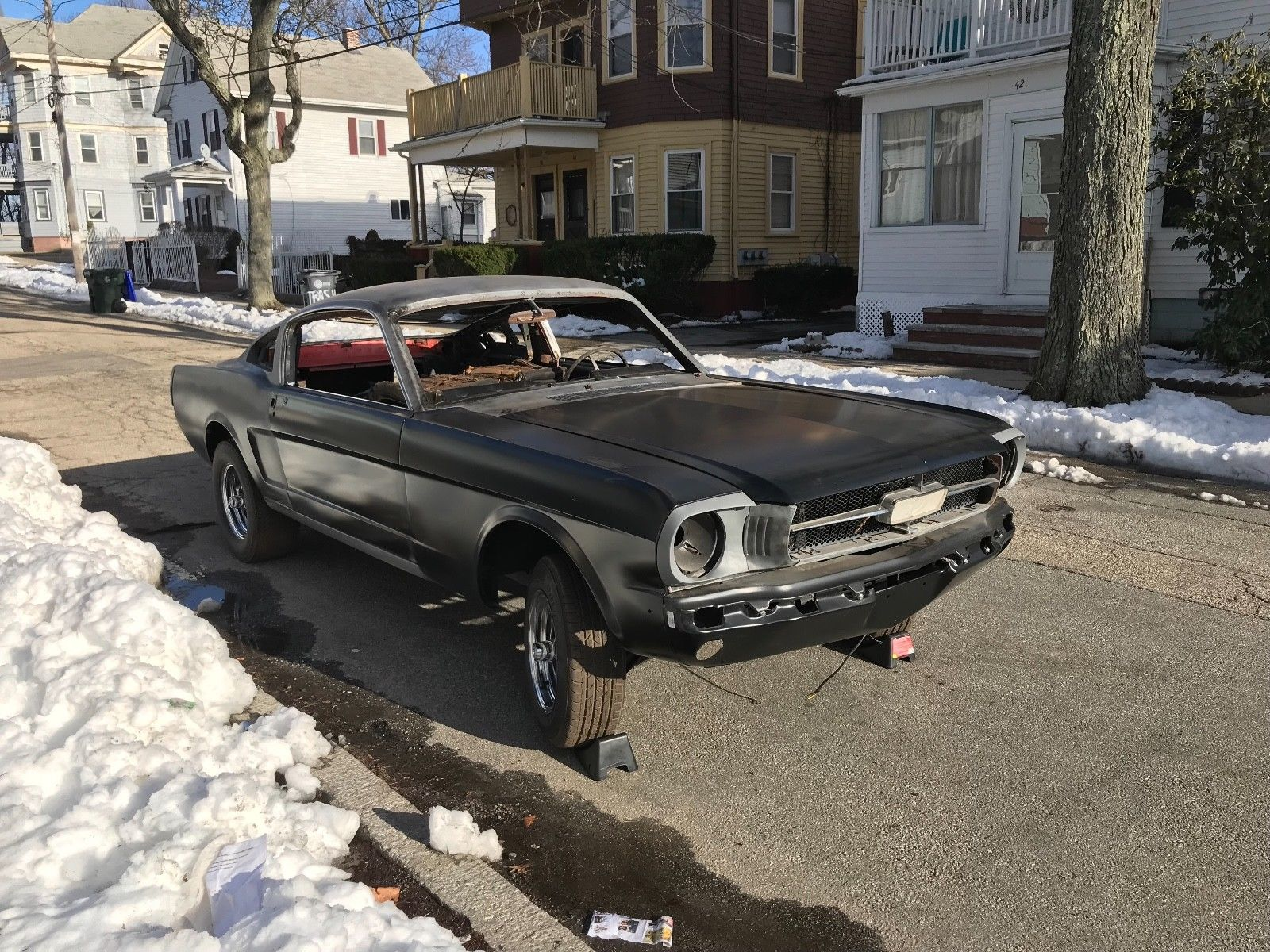Great 1966 Ford Mustang Fastback Rolling Shell 2019