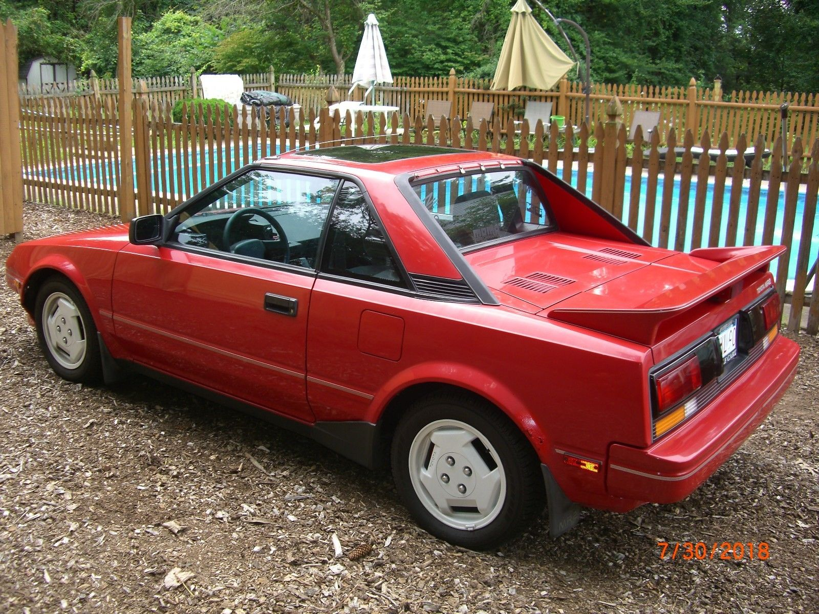 Amazing 1987 Toyota Mr2 Red Nice Shape Sunroof Alpine Stereo New Tires 2018