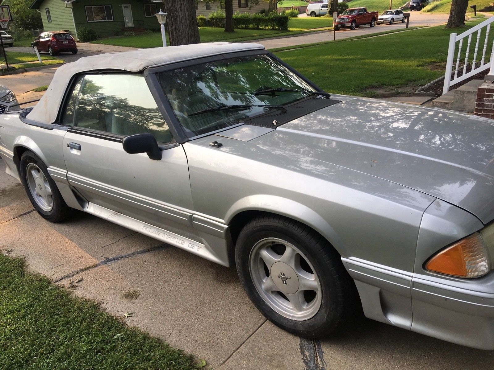 Awesome 1993 Ford Mustang Gt Convertible Low Miles Project 2019