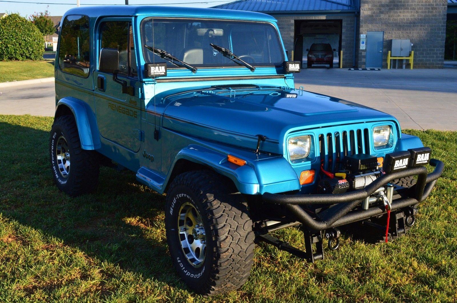 Jeep Wrangler Renegade >> Amazing 1994 Jeep Wrangler Renegade Fully Restored Jeep