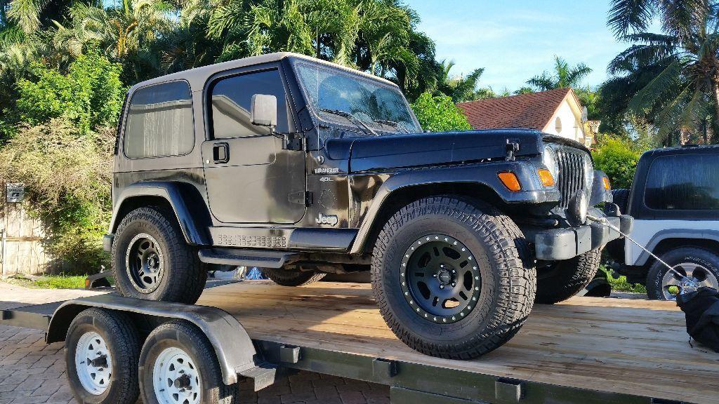 Awesome 2003 Jeep Wrangler Sahara 2000 Jeep Wranglert Tj Sahara 2019