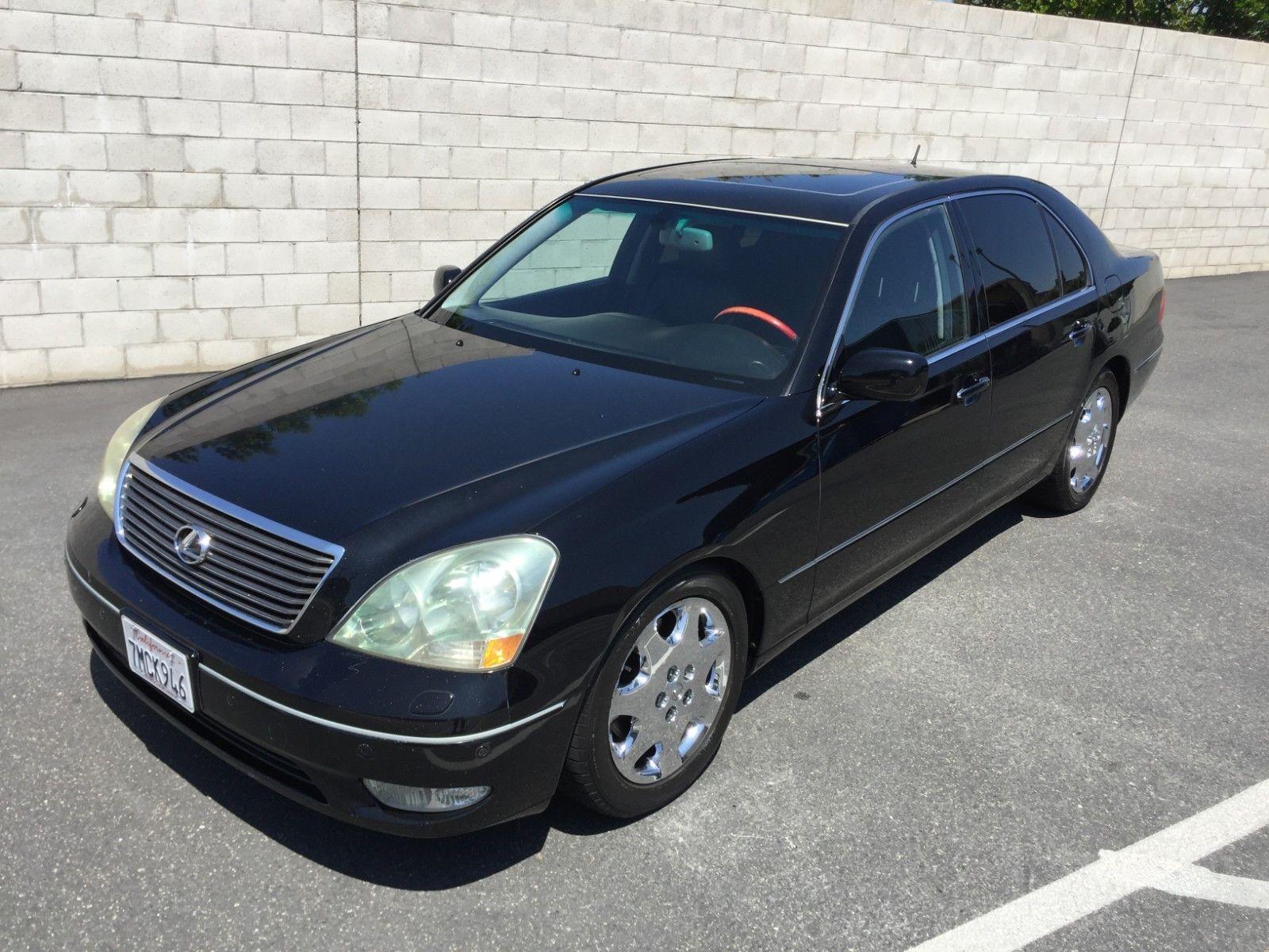 2003 Lexus Ls430 >> Amazing 2003 Lexus Ls 2003 Lexus Ls 430 Clean California Car Crystal Black With Black Interior 2018
